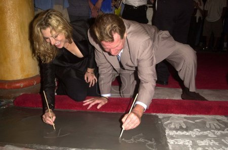 Tatum ONeal and Ryan ONeal