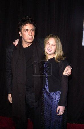 Аль Пачино и дочь Джули