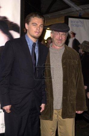 Leonardo Dicaprio and Steven Spielberg