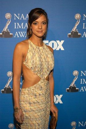 Photo pour Eva La Rue au 34e NAACP Image Awards, Universal Amphitheatre, Universal City, CA 03-08-03 - image libre de droit