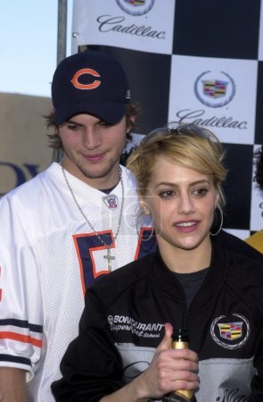 Ashton Kutcher and Brittany Murphy