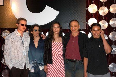 Elden Henson, Michael McCall, Sarah Rivas, Jordan Melamed and Cody Lightning