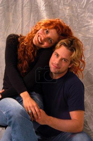 Brad Rowe and Jenna Mattison