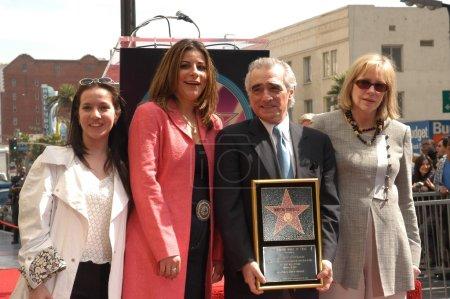 Martin Scorsese and family