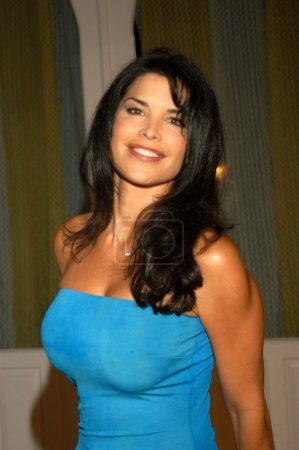 """Photo for Lauren Sanchez at Open Your Eyes Magazine celebrates the release of its """"Spicy Swimsuit Issue"""", Conga Room, Los Angeles, Calif., 07-23-03 - Royalty Free Image"""