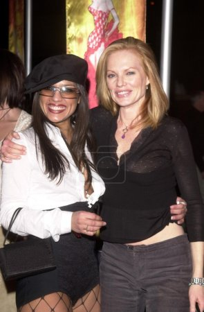 Marg Helgenberger and friend