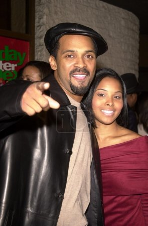 Michael Epps and date Michelle