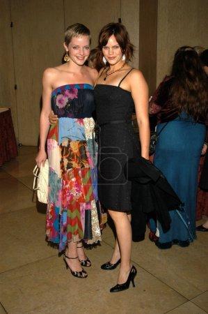 Marley Shelton and sister Sam