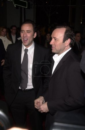 Kevin Spacey and Nicolas Cage