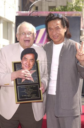 Johnny Grant and Jackie Chan
