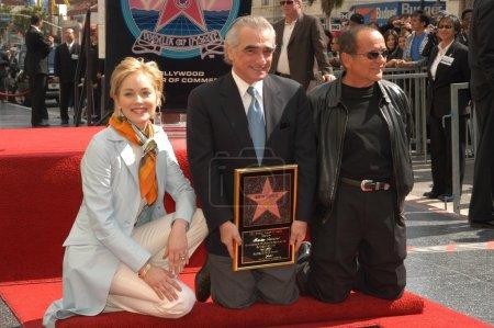 Sharon Stone Martin Scorsese and