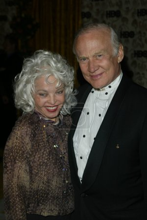 Buzz Aldrin and wife