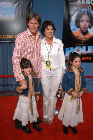 Bruce Jenner wife Kris and