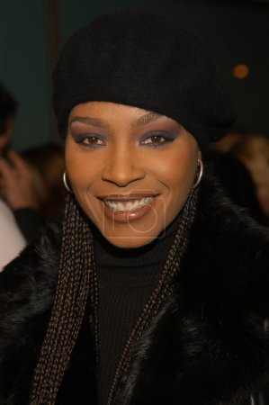 Nona Gaye at the premiere of New Line Cinema's