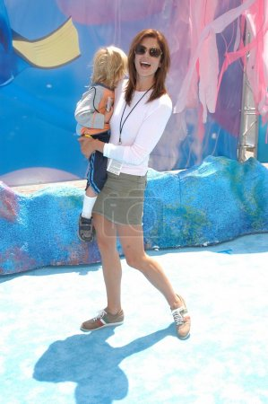 Cindy Crawford and son Presley