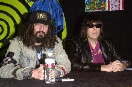 Rob Zombie and Johnny Ramone