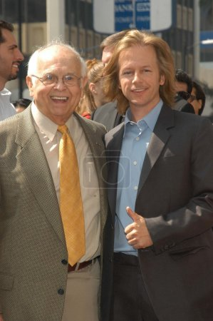 Johnny Grant and David Spade
