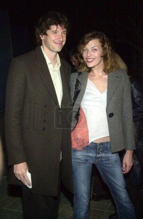 Paul Anderson and Milla Jovovich