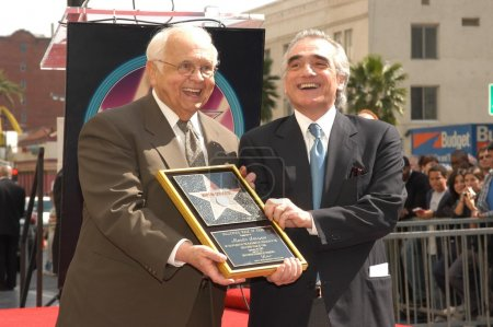 Johnny Grant and Martin Scorsese