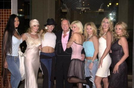 Hugh Hefner and babes