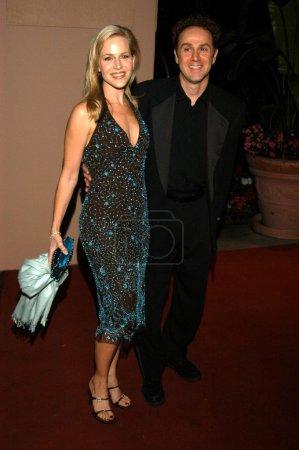 Julie Benz and John Kassir