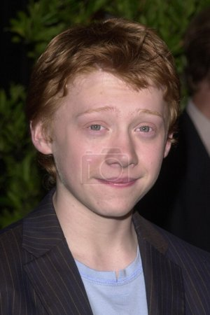 """Photo for Rupert Grint at the premiere of Warner Bros. """"Harry Potter And The Chamber Of Secrets,"""" Mann Village Theatre, Westwood, CA 11-14-02 - Royalty Free Image"""