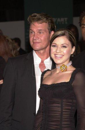 Patrick Swayze and Kelly Clarkson