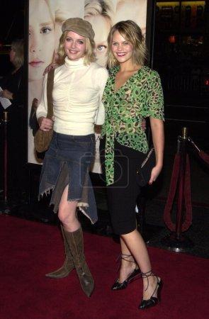 Marley Shelton and Samantha Shelton