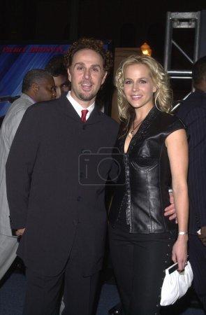 Jon Kassir and Julie Benz