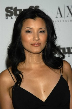 Photo for Kelly Hu at Stuff Magazine Beachdance Party, Pacific Design Center, Hollywood, Calif., 06-05-03 - Royalty Free Image