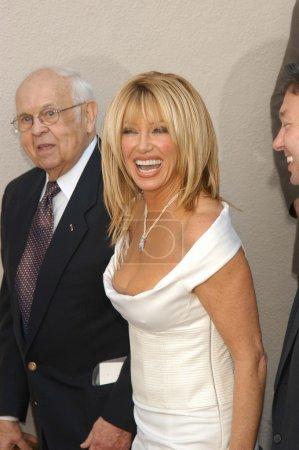 Johnny Grant and Suzanne Somers