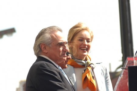 Martin Scorsese and Sharon Stone