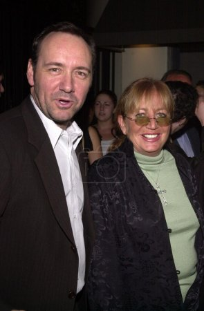Kevin Spacey and Penny Marshall