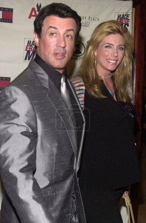 Sylvester Stallone and wife Jennifer