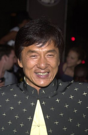Jackie Chan at the premiere of New Line Cinemas