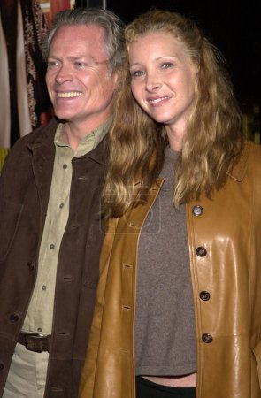 Lisa Kudrow and hubby Michel
