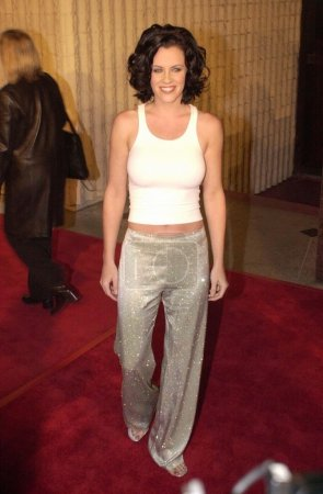 """Photo for Jenny McCarthy at the premiere of Dimension Film's """"Scream 3"""" in Westwood, 02-02-00 - Royalty Free Image"""