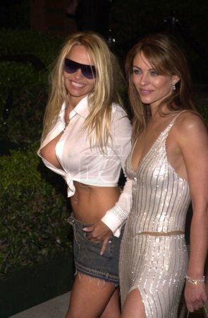 Pamela Anderson and Elizabeth Hurley