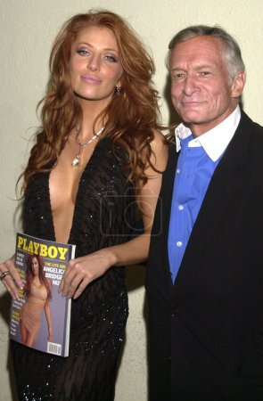 Angelica Bridges and Hugh Hefner