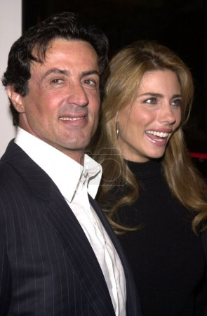 """Photo for Sylvester Stallone and Jennifer at the premiere of Warner Brothers """"Get Carter"""" in Westwood, 10-04-00 - Royalty Free Image"""