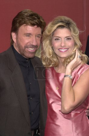 Chuck Norris and wife Gena
