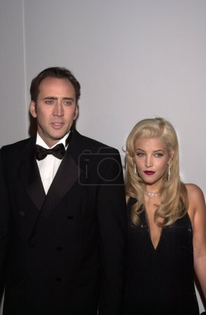 Nicolas Cage and Lisa Marie