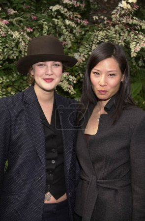 Drew Barrymore and Lucy Liu