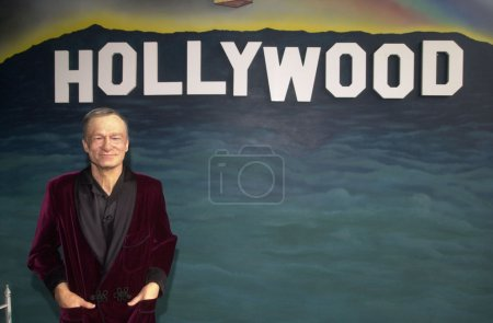 Hugh Hefner Wax Figure