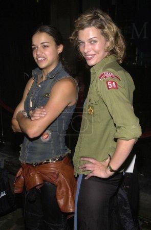Michelle Rodriguez and Milla Jovovich