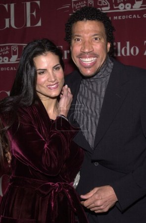 Lionel Ritchie and wife Diana
