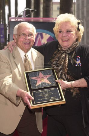 Johnny Grant and Rose Marie