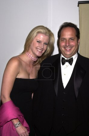 Photo for Maeve Quinlan and Jon Lovitz at the American Cinematheque Award to Nicolas Cage, Beverly Hilton, 10-28-01 - Royalty Free Image