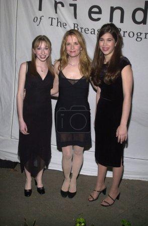 Lauren Frost, Lea Thompson and Allison Jones at the