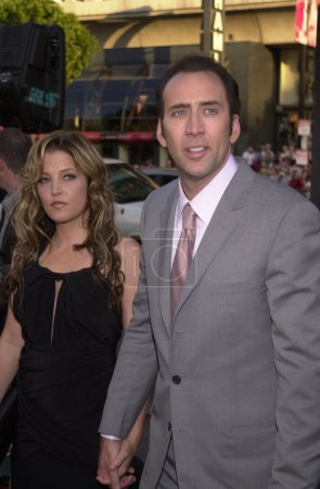 Lisa Marie Presley and Nicolas